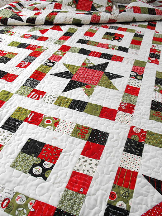 Starry Eyed Quilt Free Tutorial