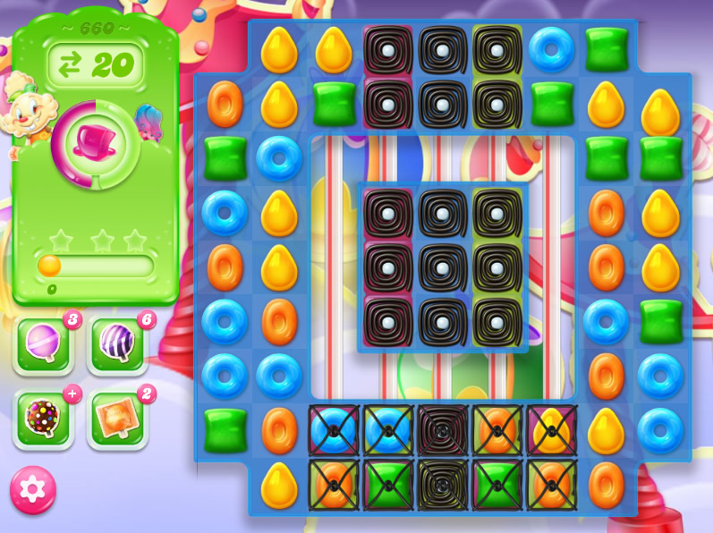 Candy Crush Jelly Saga level 660