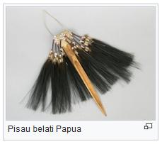 pisau belati papua senjata tradisional papua wisataarea.com