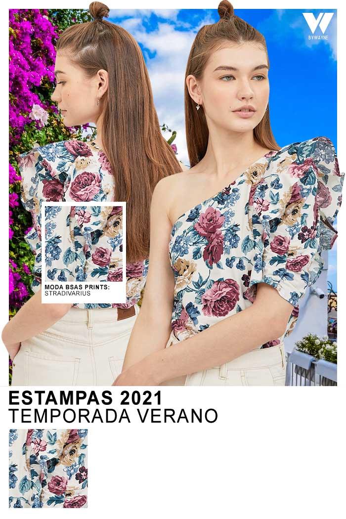 Moda 2021 moda primavera verano 2021 estampados florales