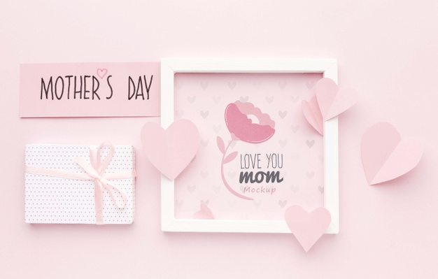 mothers day concept Free Psd