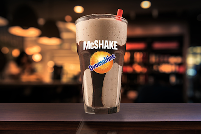Milk-shake de Ovomaltine agora é exclusividade do McDonald's