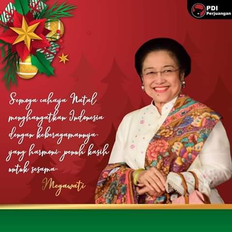 Natal PDIP Sulut Bakal di Hadiri Megawati Soekarnoputri