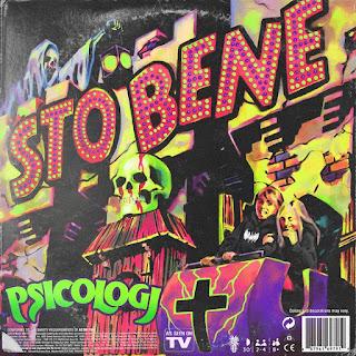 """Copertina """"STO BENE"""", il nuovo singolo di PSICOLOGI."""