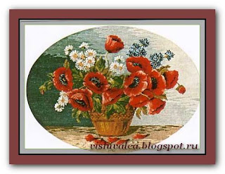 "Download embroidery scheme Rogoblen 7.01 ""Wild Flowers"""