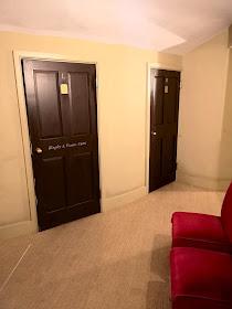Doors to boxes, Theatre Royal, Bury St Edmunds