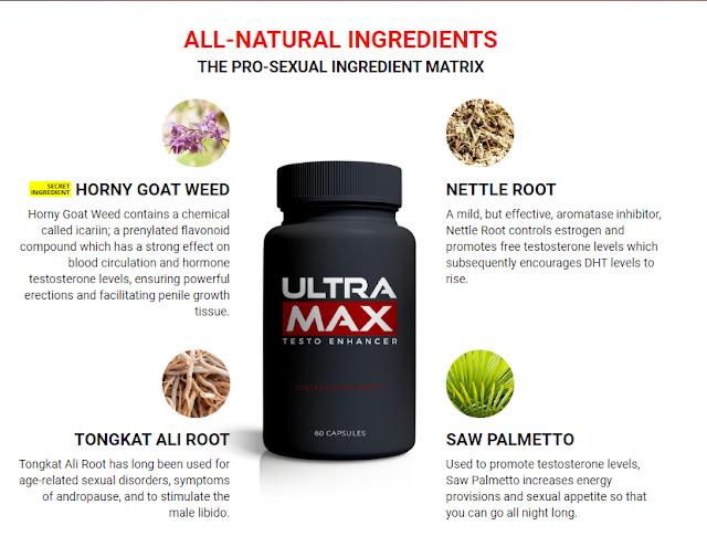 Introduction To Ultramax Testo Enhancer Supplement: