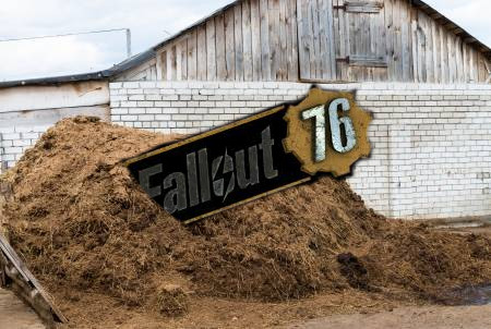 Farmer Outrage as Giant Mountain of Sh*t Mistaken for Fallout 76