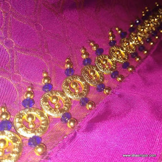 silk saree kuchu designs