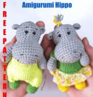 PATRON GRATIS HIPOPOTAMO AMIGURUMI 35685