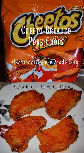 Cheeto Pork Chops pin