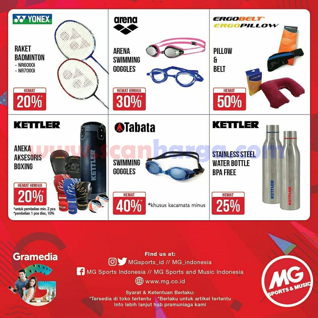 MG Sports Promo Fitness Year End Sale Disc Up to 40% 3