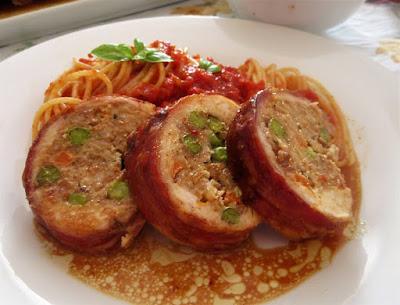 Štruca od piletine / Chicken meatloaf