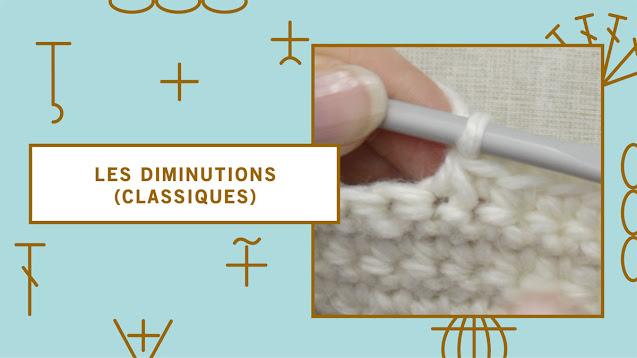 comment faire des diminutions au crochet