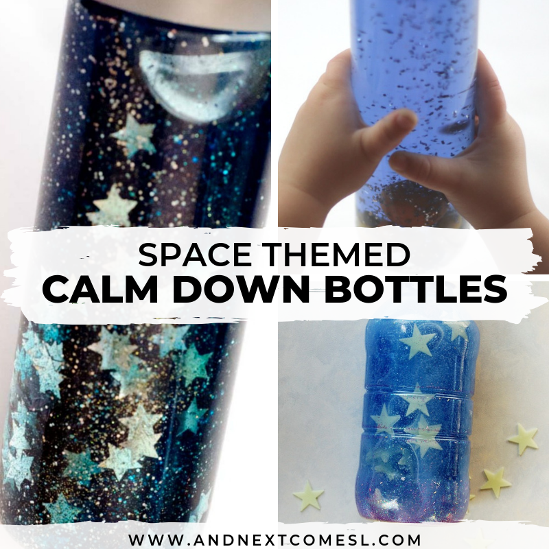 7 Outer Space Themed Calming Sensory Bottles That Are Perfect For Kids With Hyperlexia And Next Comes L Hyperlexia Resources