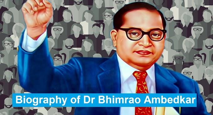 Dr. B.R. Ambedkar Biography | Biography of Dr Bhimrao Ambedkar