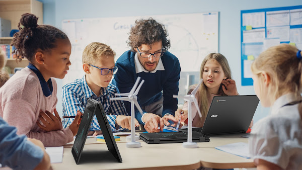 Acer Apresenta Dois Chromebooks Duráveis e Convertíveis para o Mercado da Educação