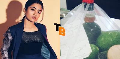 Rashmika sent a gift to Mahesh Babu