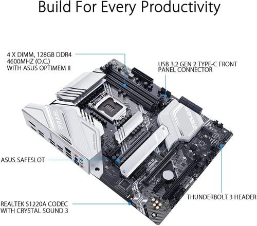 Review ASUS Prime Z490-A LGA 1200 Motherboard