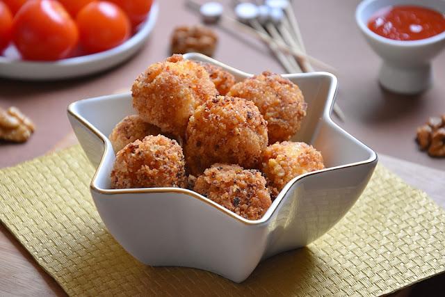 mozzarella chorizo noix