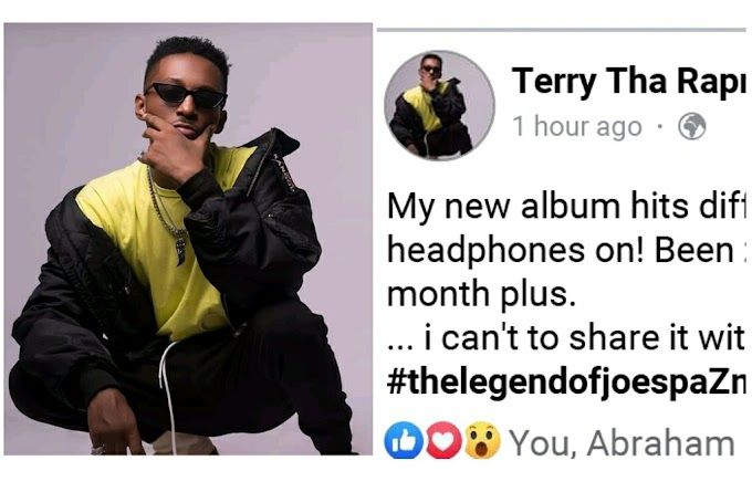 """Kapenta Of Lagos """"Terry Tha Rapman"""" Talks About His Forthcoming Album (T.L.O.J.S)"""