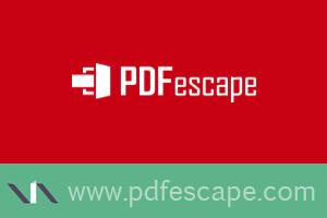 PDF escape, editor online de PDFs