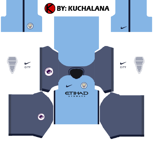 Manchester City Kits 2016/2017 - Dream League Soccer 2015