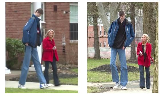Basketball, Robert Bobroczky, Tallest teen, News, Foreign,