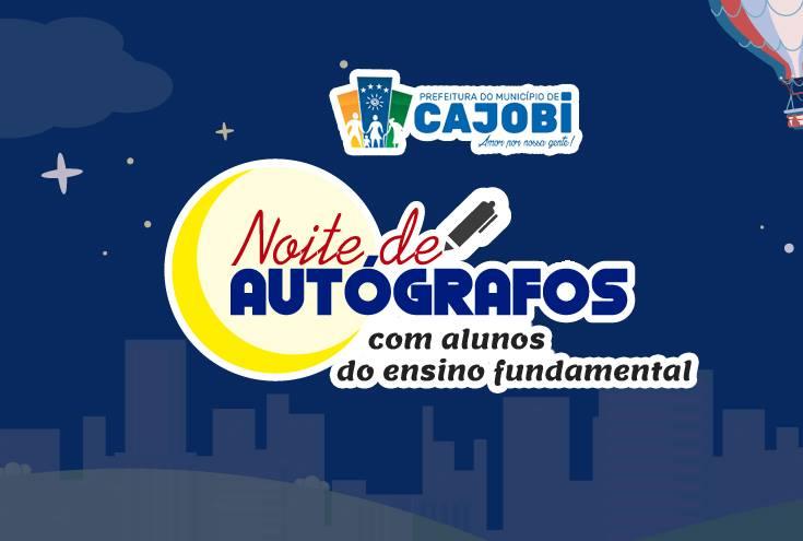 Noite de Autógrafos com alunos de Cajobi começa nesta semana