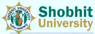 Shobhit University Date Sheet 2016