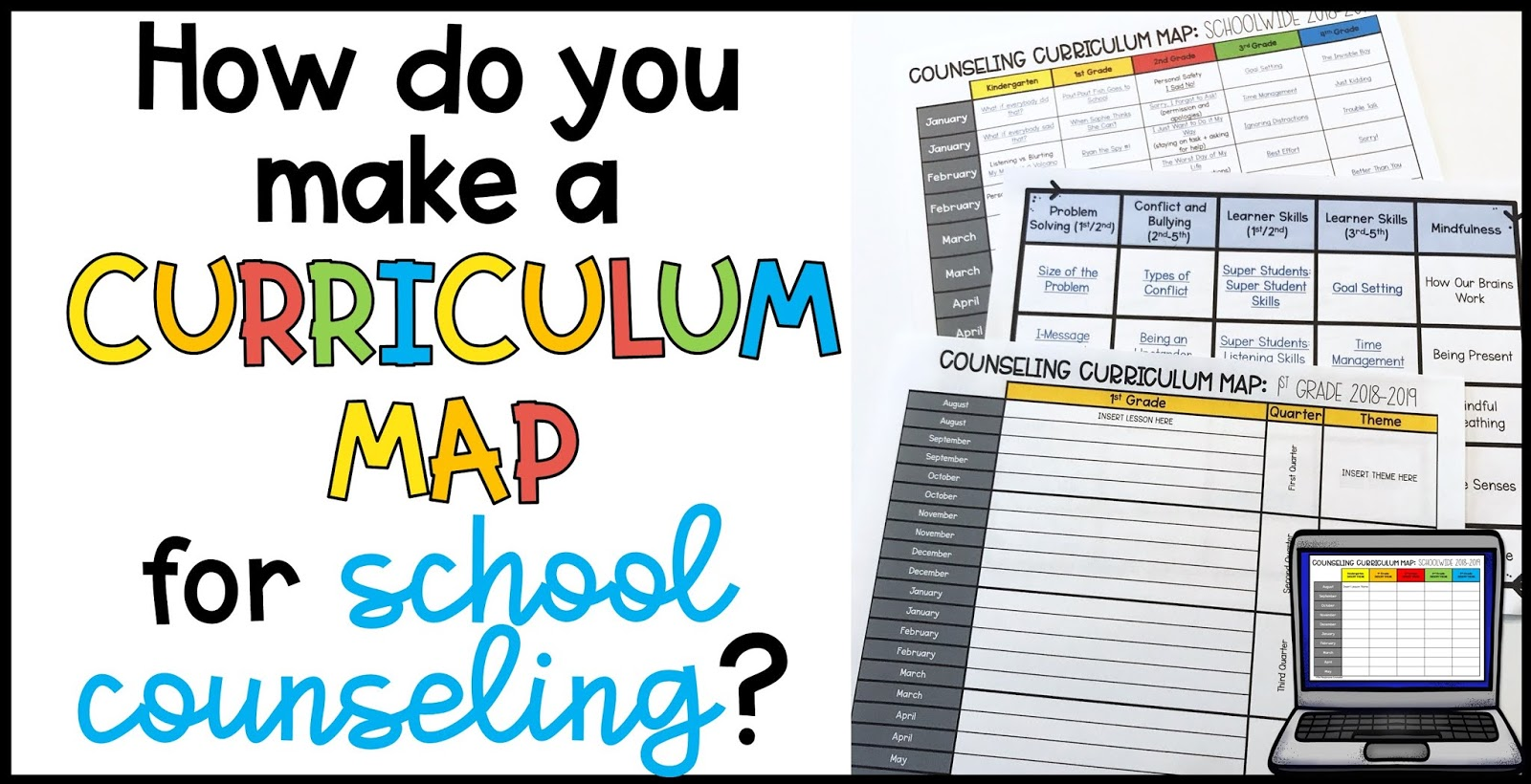Curriculum Mapping for School Counselors: A New Vision - The Pertaining To Blank Curriculum Map Template