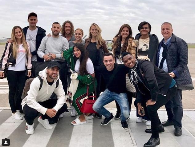 Los jugadores del Barça ya están en Argentina para la boda de Messi y Antonella
