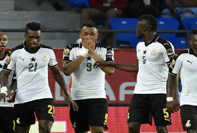 Why Jordan Ayew Cried after Scoring in Ghana vs DR Congo Clash