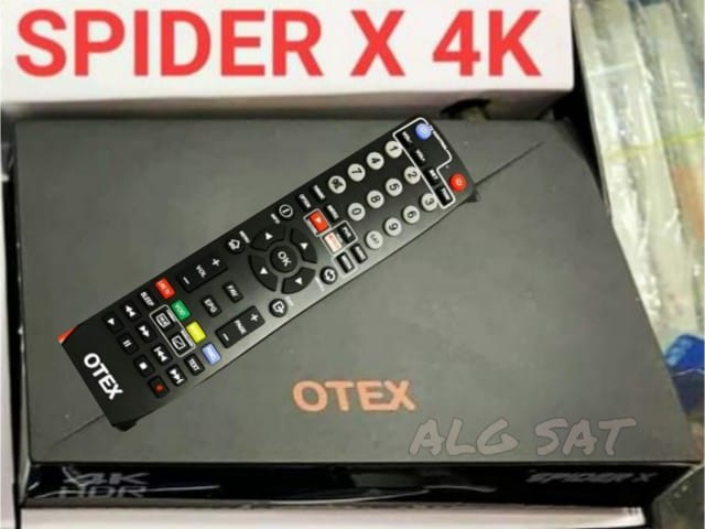 تعرف على  مواصفات جهاز SPIDER X 4K الجديد ALG SAT