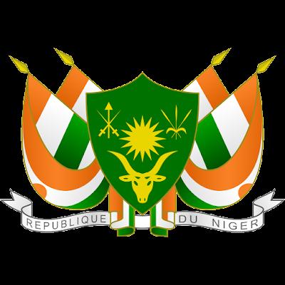 Coat of arms - Flags - Emblem - Logo Gambar Lambang, Simbol, Bendera Negara Niger