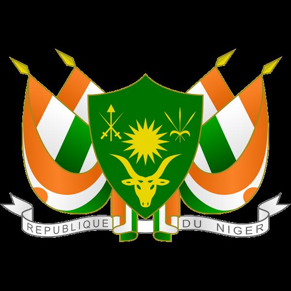 Logo Gambar Lambang Simbol Negara Niger PNG JPG ukuran 600 px
