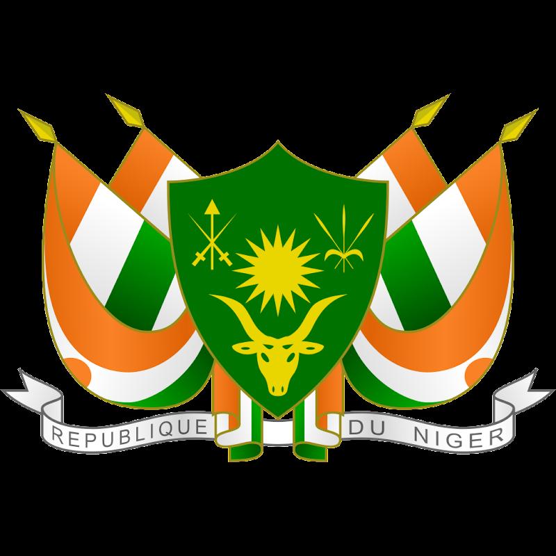 Logo Gambar Lambang Simbol Negara Niger PNG JPG ukuran 800 px