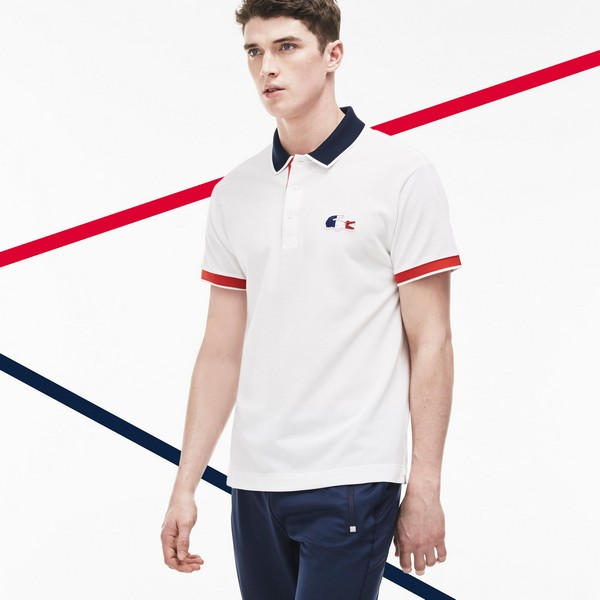 simple Lacoste Polo