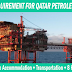 Urgent Requirement for Qatar Petroleum (Dopet) – 3 Months Shutdown Jobs