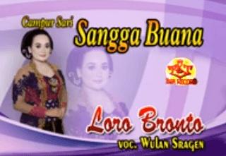 Lirik Lagu Loro Bronto - Wulan Sragen