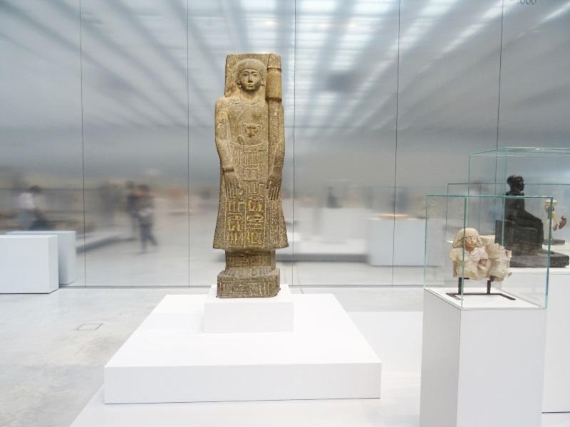 visite au Louvre Lens