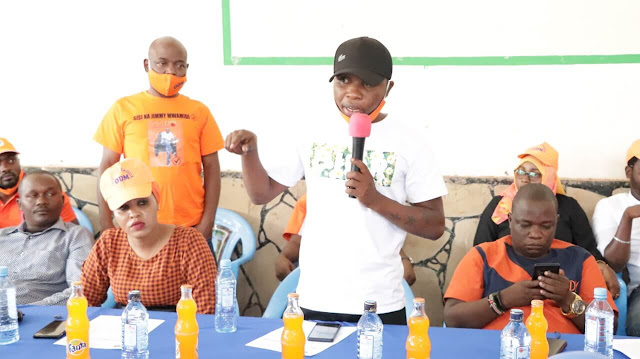ODM Youth delegation meeting in Kilifi for the Coast ODM youths