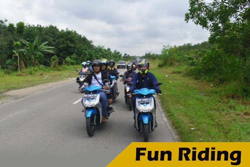 Fun Riding bersama Motor Matic Yamaha Mio S