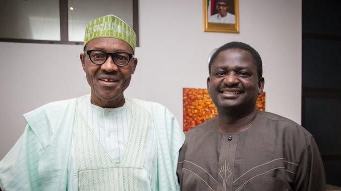 If you calm down, you see Buhari's achievements — Femi Adesina  says