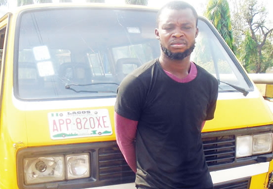 one chance robber oshodi lagos