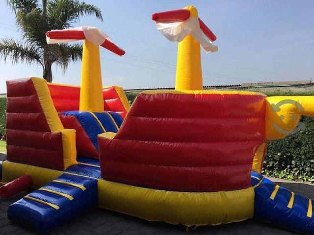 chia inflable pueblo zona juegos para fiestas infantiles de 8 años 7 6 5 3 2 1