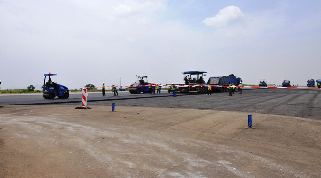 Abuja airport runway now 57.5 per cent completed – Minister