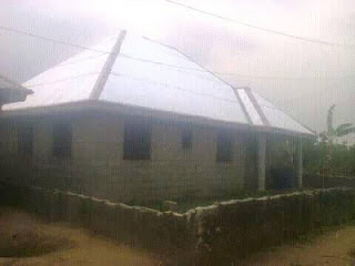 A 21-year Old Nigerian shares photos of his 5-bedroom bungalow,says success is not by age