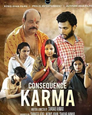 Consequence Karma (2019) Hindi 720p | 480p WEB HDRip x264 650Mb | 250Mb