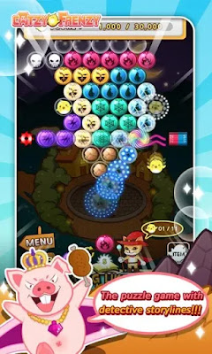 Screenshot Bubble Shooter - Apcoid